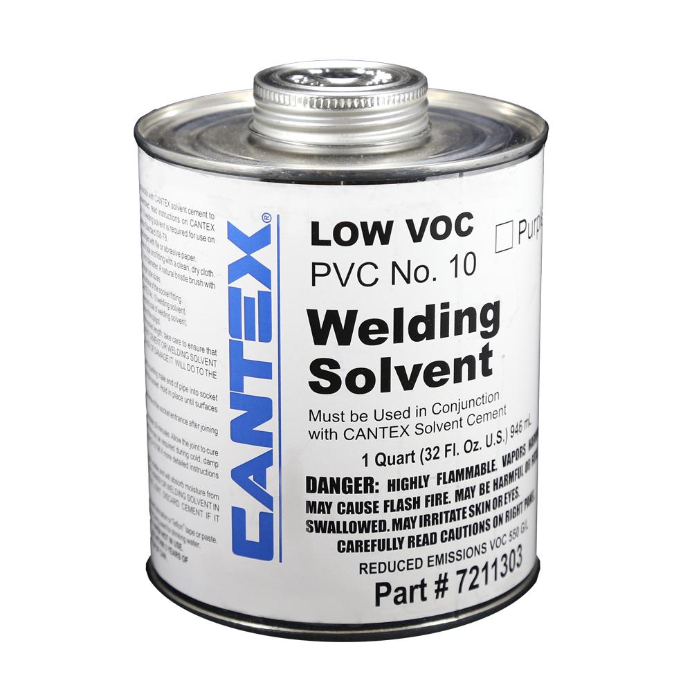 1 Qt. PVC Low VOC Purple Primer #10