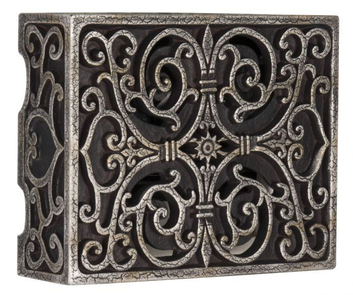 Craftmade International CAB-RC Elaborately Carved Scroll Work Cabinet Chime