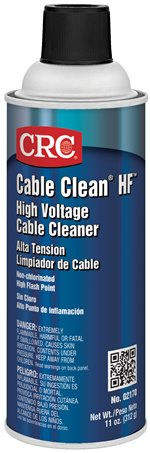 Cable Clean® HF™ High Voltage Cleaner (High Flash), 11 Wt Oz