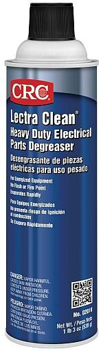 Lectra Clean® Heavy Duty Electrical Parts Degreaser, 19 Wt Oz
