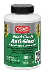 CRC Industries SL35905 8 oz Brush Top Bottle Food Grade Anti-Seize