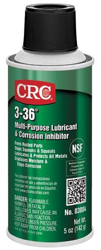 CRC 1003252 (03004) 3-36 Multi- Purpose Lubricant, 6oz Aerosol