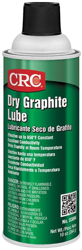 CRC 1003361 (03094) Dry Graphite Lube, 10 Wt Oz