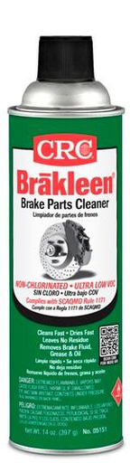 Brakleen® Brake Parts Cleaner, SCAQMD #1171 Compliant, 14 Wt Oz