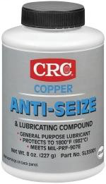 CRC Industries SL35901 8 oz Brush Top Bottle Copper Anti-Seize