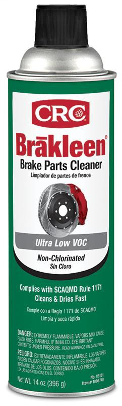 CRC,05151,LOW VOC NON-CHLORINATED BRAKLEEN
