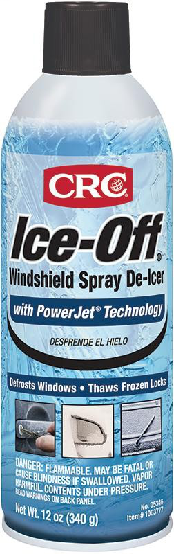CRC Industries 05346 16 oz Aerosol Windshield Spray De-Icer