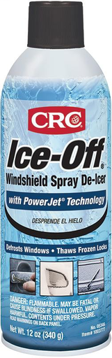 Melts ice, snow, and frost on contact. Harmless to car finish. Thaws frozen locks and is effective to sub-zero temperatures.