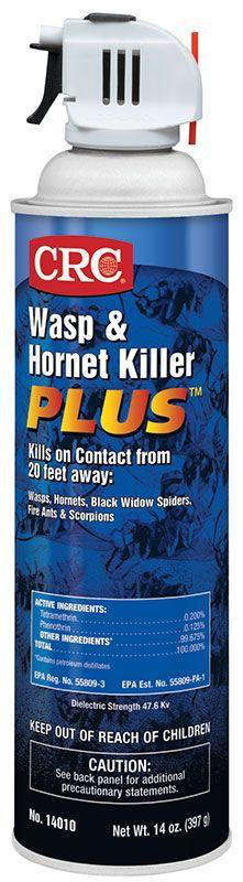 CRC Industries 14010 20 oz Aerosol Trigger Wasp and Hornet Killer Insecticide
