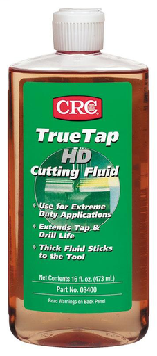 A heavy-duty cutting fluid designed for use in severe applications. Thick, honey-like fluid clings to cutting tool throughout the operation. Excellent for use on tough stainless steel and exotic metals.
