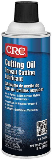 CRC 14050 Cutting Oil 12 Ounce Aerosol (Replaces Both Light & Dark Thread Cutting Oil)