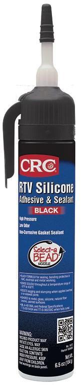 CRC,14072,RTV SILICONE SEALANT (BLACK)