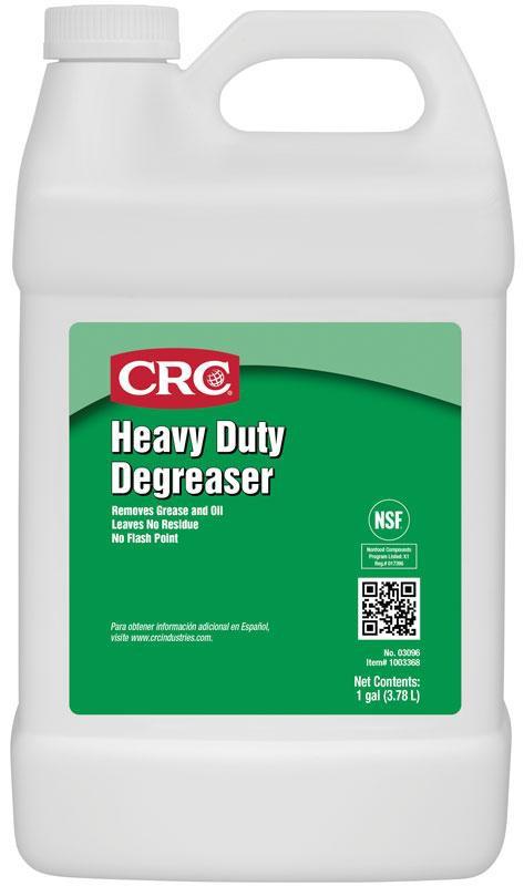 CRC 03096 Heavy Duty Degreaser 1 GA