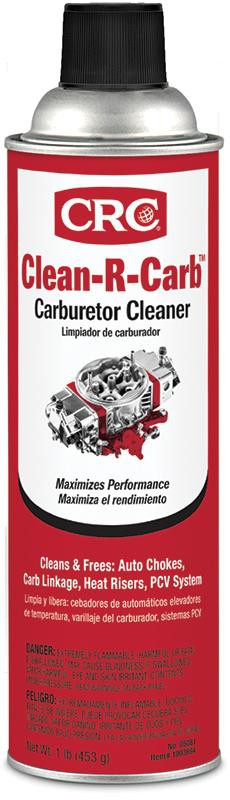 CRC 05081 Carburetor Cleaner, 16 Wt