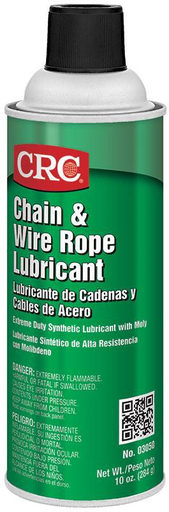 Chain and Wire Rope Lubricant, 10 Wt Oz