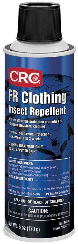 CRC FR Clothing Insect Repellent, 6 Wt Oz