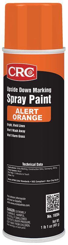 CRC,18204,Marking Paints-Alert Orange 17 Wt Oz