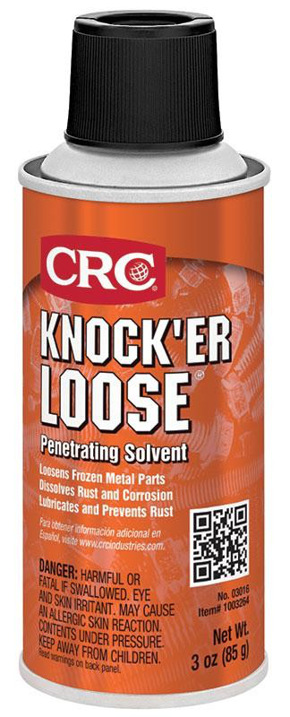 CRC,03016,Knock'er Loose Penetrating Solvent 3 Oz