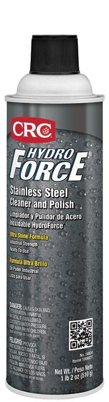 HydroForce® Stainless Steel Cleaner and Polish, 18 Wt Oz