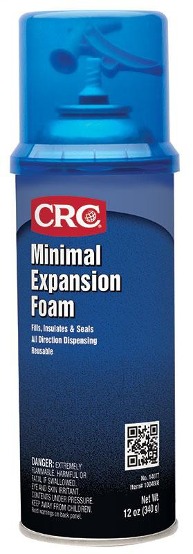CRC Minimal Expansion Foam, 12 Wt Oz