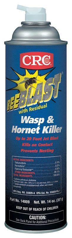 CRC Industries 14009 20 oz Aerosol Wasp and Hornet Killer