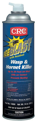 Bee Blast with Residual Wasp & Hornet Killer, 14 Wt Oz