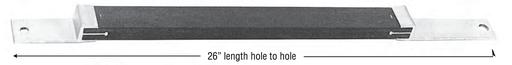 """Mayer-Flat Apitong Braces - 26"""" Flat Brace, 38"""" Span x 17-3/4"""" Drop-1"""