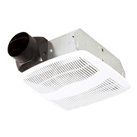 Air King AS70 70 CFM 40 Sones Exhaust Fan with 3 Inch Duct