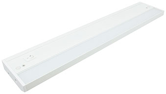 Mayer-A modular LED undercabinet fixture with dimmable 5630 LEDs, a low profile housing and glare-free lens design.-1