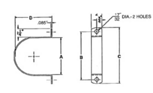 Mayer-Strap Kit for Conduit Standoff Bracket-1