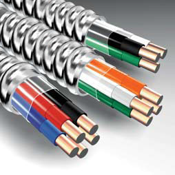 MC13 MC LITE 1/3 COPPER BK/WE/RD #6 GREEN GROUND 500FT REEL 2137-45-00