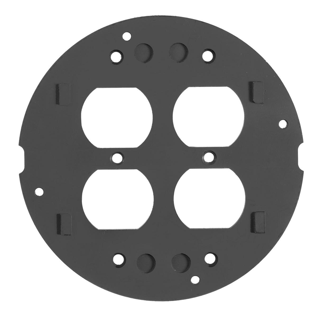 HUB S1SPDU SYSTEMONE SUBPLATE DOUBLE DUPLEX