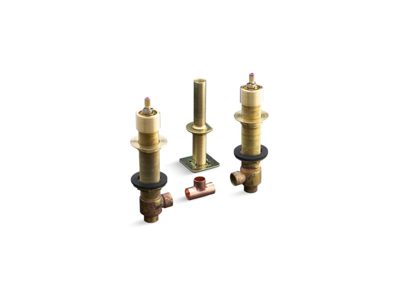 "1/2"" ceramic high-flow valve system, Not Applicable"
