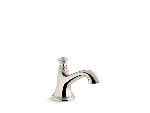 Artifacts® bathroom sink spout, Vibrant Polished Nickel