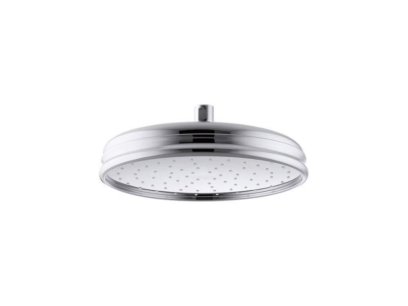 """10"""" Traditional Round 2.5 gpm rainhead with Katalyst® air-induction technology, Polished Chrome"""