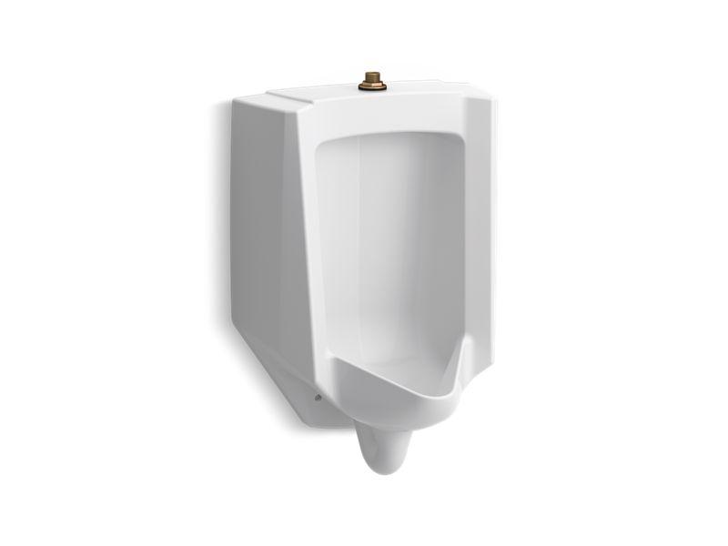 Bardon™ High-Efficiency Urinal (HEU), washdown, wall-hung, 0.125 gpf to 1.0 gpf, top spud, White