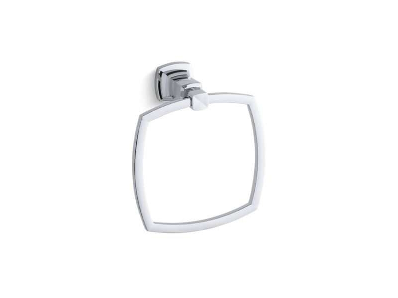 Margaux® towel ring, Polished Chrome