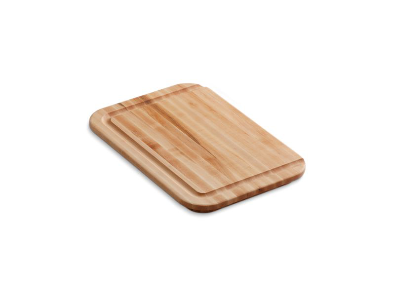Hardwood cutting board, for Undertone®, Cadence™, Iron/Tones®, and Toccata™ kitchen sinks, Not Applicable