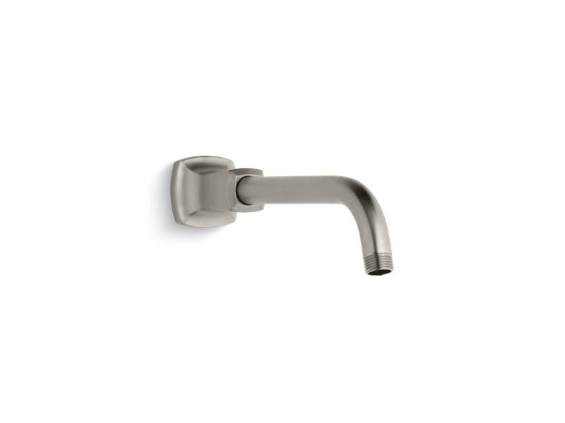 Margaux® shower arm and flange, Vibrant Brushed Nickel
