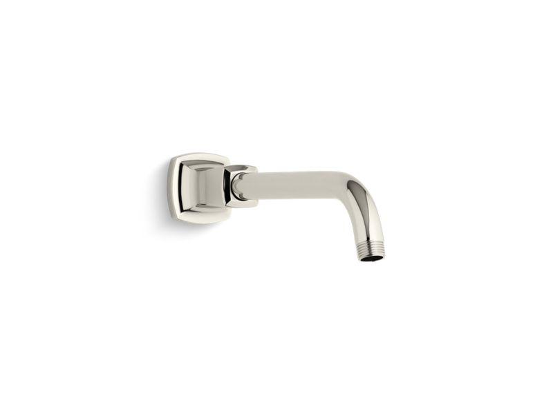 Margaux® shower arm and flange, Vibrant Polished Nickel