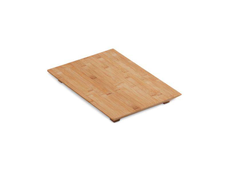 Hardwood cutting board for Poise® and 8 Degree™ kitchen and bar sinks, Not Applicable