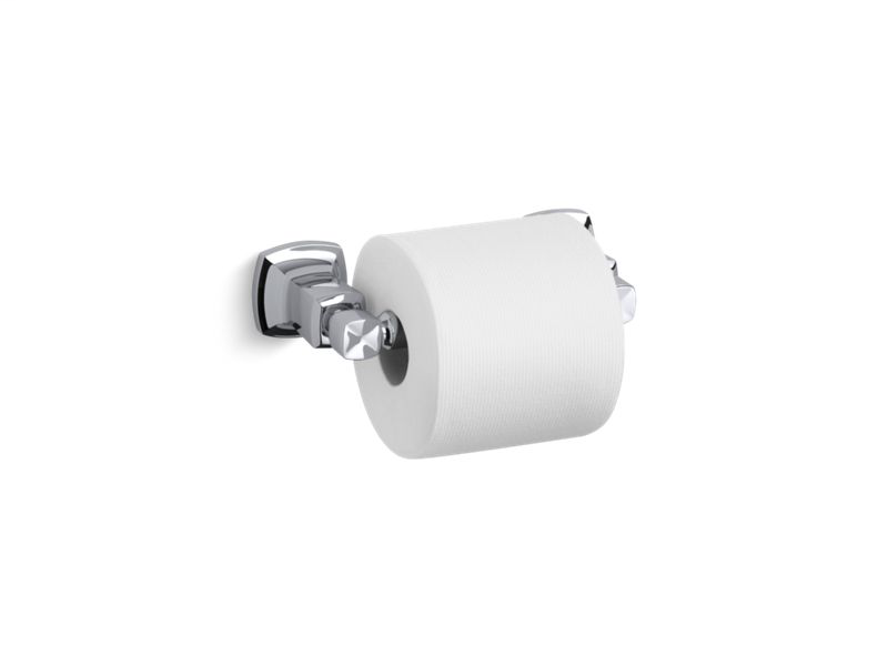 Margaux® horizontal toilet tissue holder, Polished Chrome