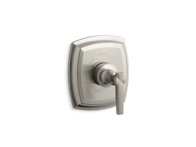 Margaux® Rite-Temp® valve trim with lever handle, Vibrant Brushed Nickel