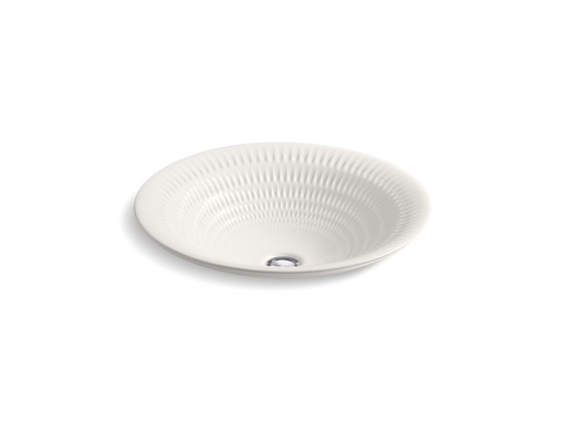 Derring® on Carillon® Round Wading Pool® bathroom sink, Translucent White
