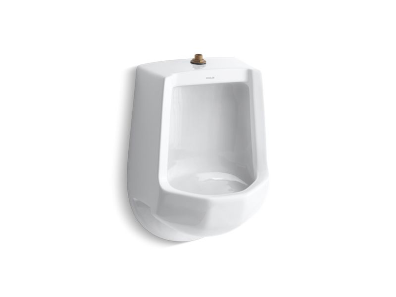 Freshman™ siphon-jet wall-mount 1 gpf urinal with top spud, White