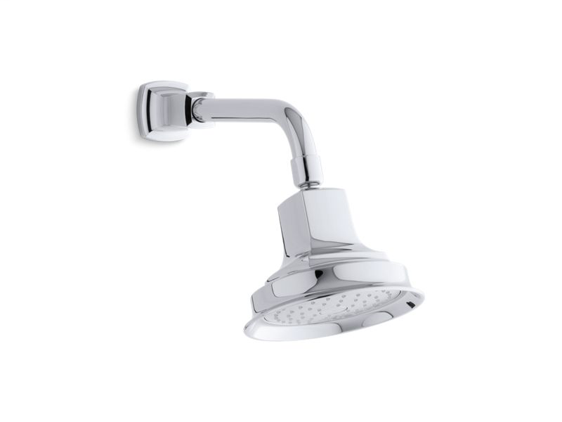 Margaux® 2.5 gpm single-function showerhead with Katalyst® air-induction technology, Polished Chrome