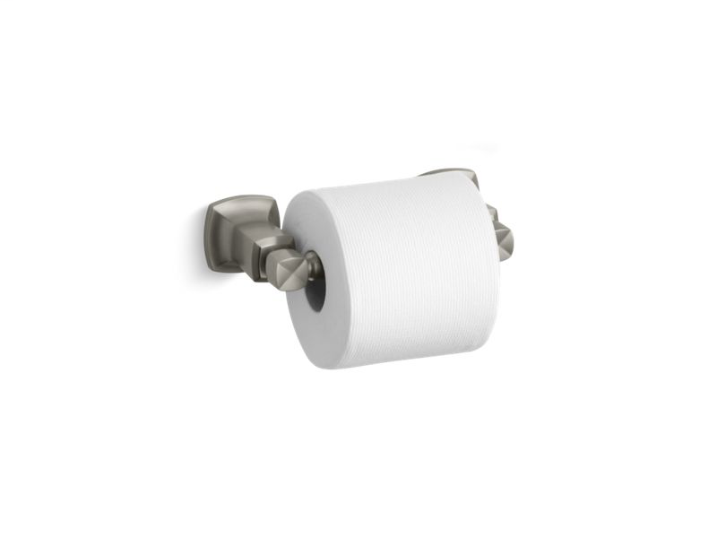 Margaux® horizontal toilet tissue holder, Vibrant Brushed Nickel