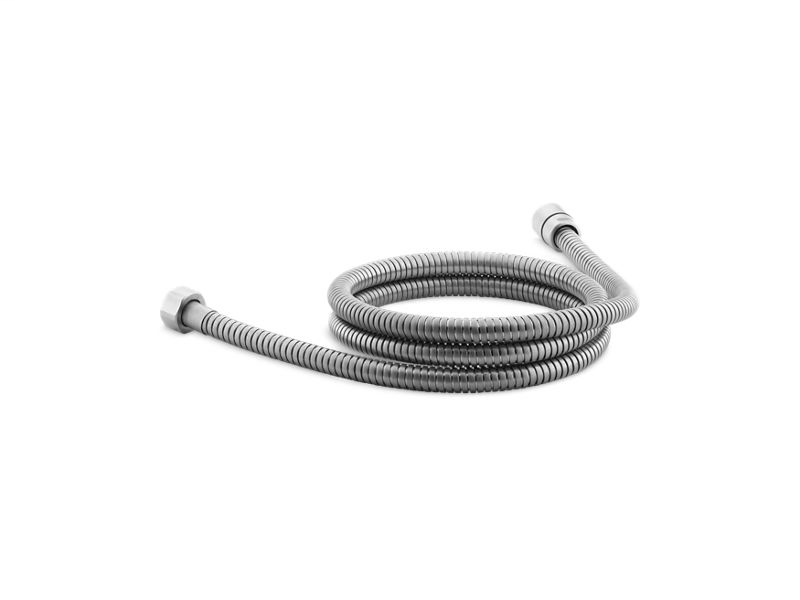 """Mastershower® 60"""" metal shower hose, Brushed Chrome"""
