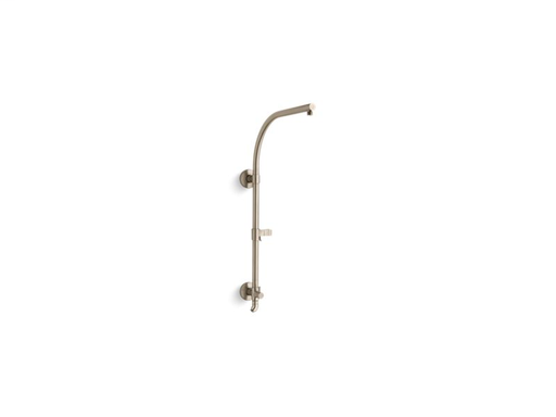 HydroRail®-R arch shower column, Vibrant Brushed Bronze