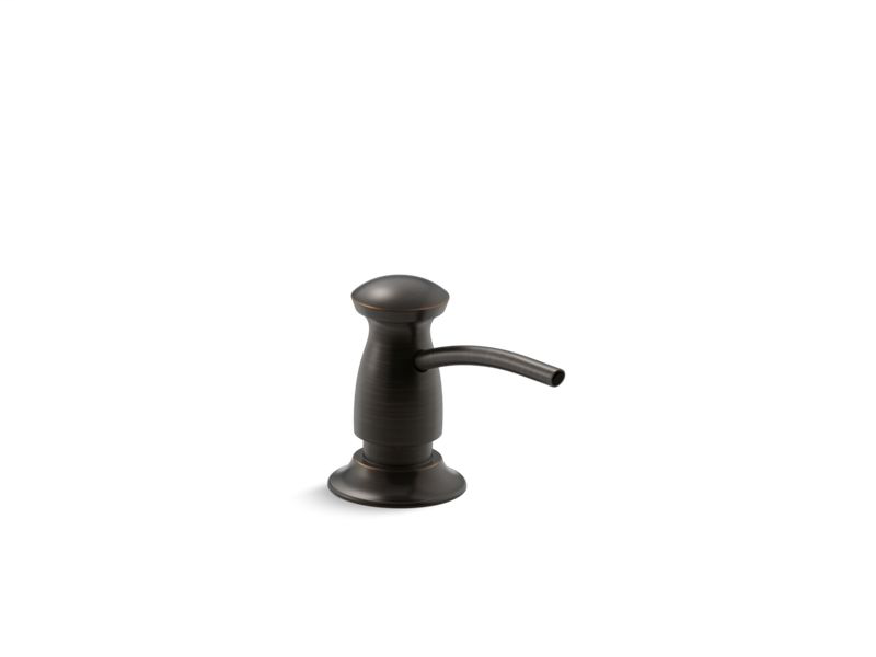 Transitional design soap/lotion dispenser, Oil-Rubbed Bronze